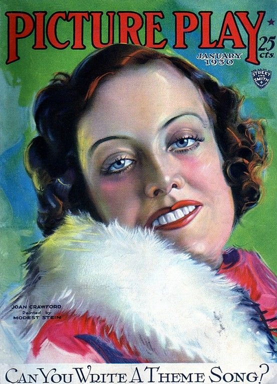 Picture Play - 1930, Joan Crawford | DUCHESS by Susan May Warren