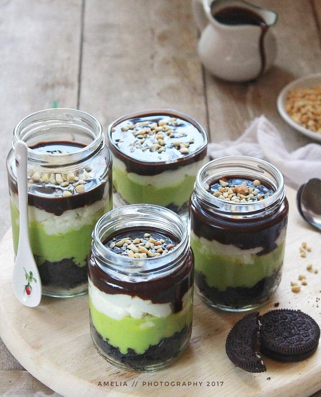 Aneka Resep Rumahan On Instagram Kasih Love Dulu Yah Oreo Alpukat Oreokat Cake Oreo Kue Camilan Resep Makanan Penutup Kue Oreo