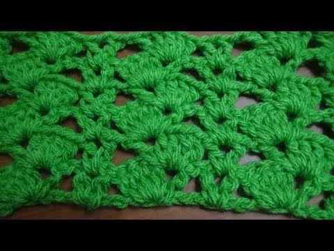 Puntada a crochet, rápida y divertida. Muestra No. 95 - YouTube ...