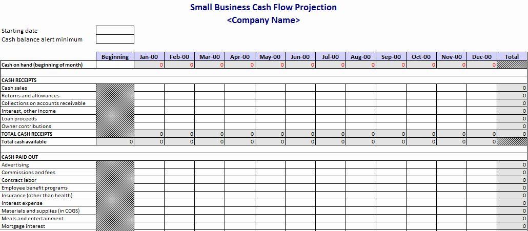 Cash Flow Chart Template Lovely Cash Flow Projection Template Flow Chart Template Cash Flow Cash Flow Statement
