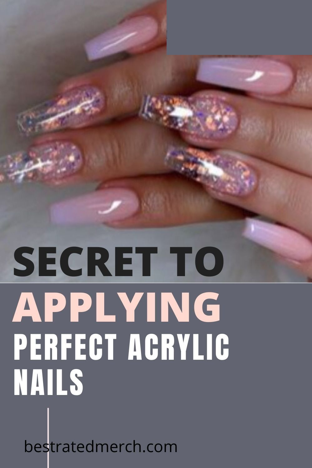 How to apply acrylic nails at home properly step by step