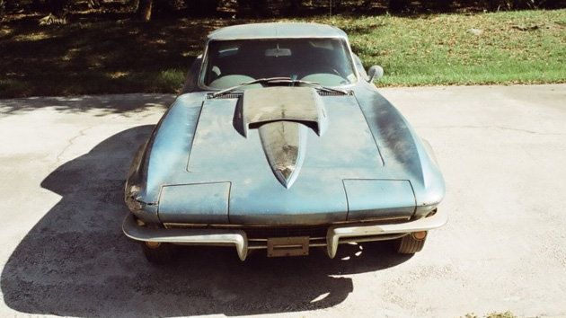 Neil Armstrong S 1967 Corvette Sting Ray For Sale As Ultimate Barn Find Chevrolet Corvette For Sale Neil Armstrong