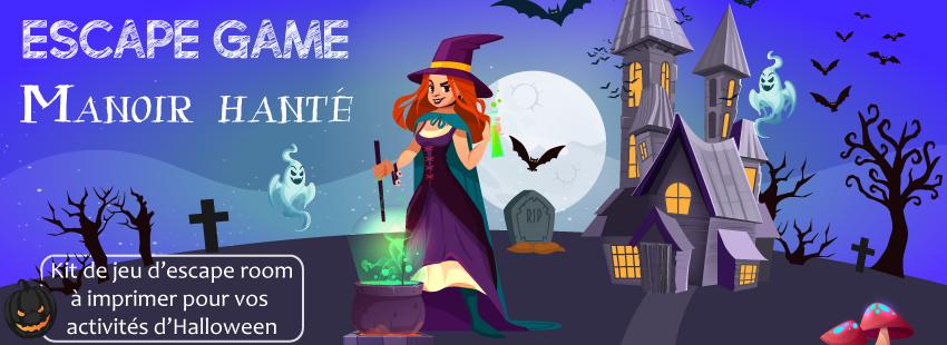 Comment organiser un escape game Halloween à la maison