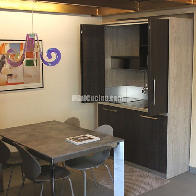 Cucine a scomparsa, Mini Cucine monoblocco | Living rooms, Kitchens ...