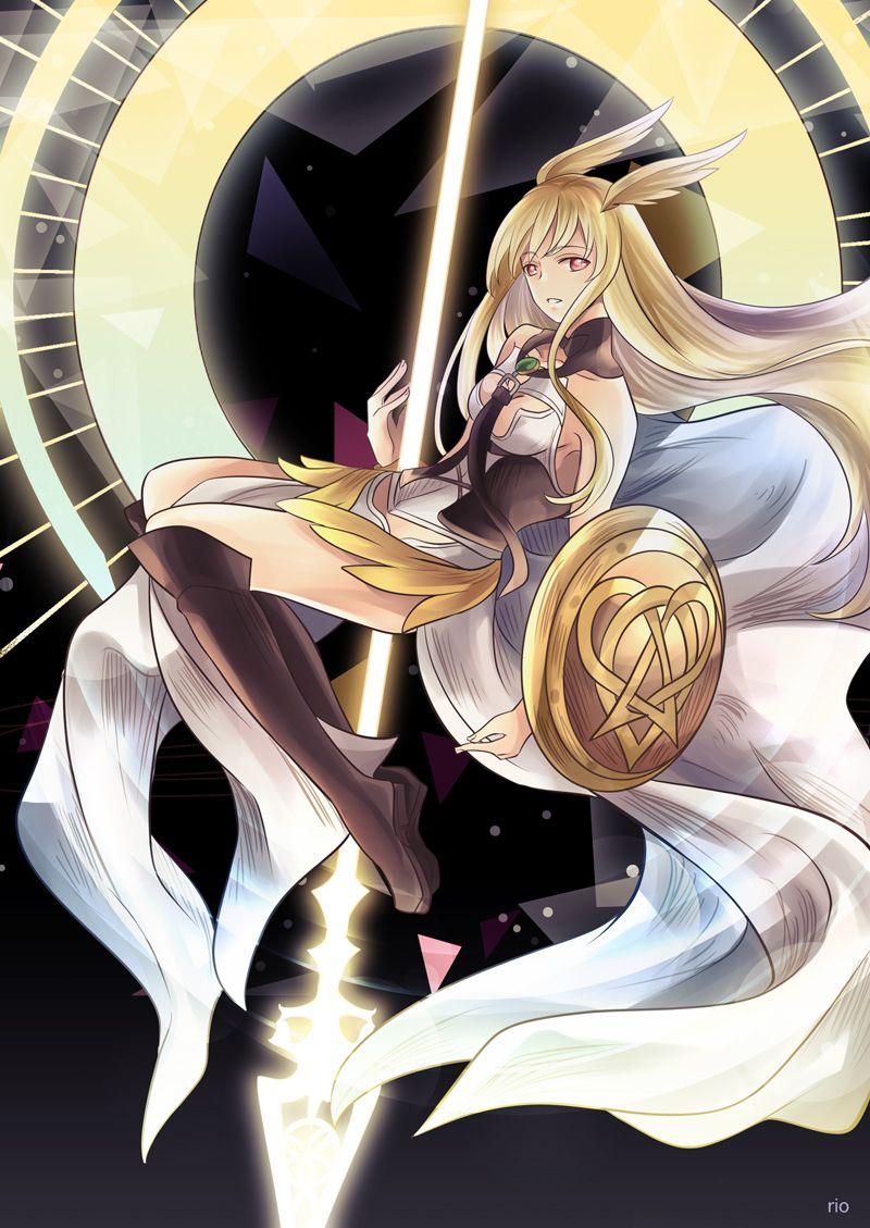 Valkyrie Warrior Girl Fate Fate Servants