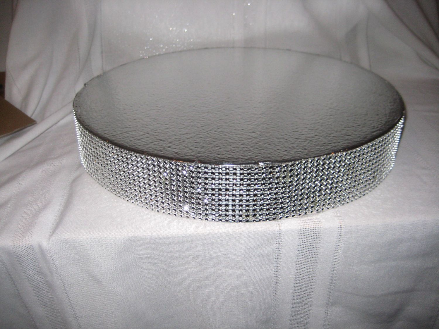 Bling wedding cake stand 16 inch dazzling by