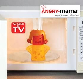 Angry-Mama™ Microwave Cleaner @ Harriet Carter