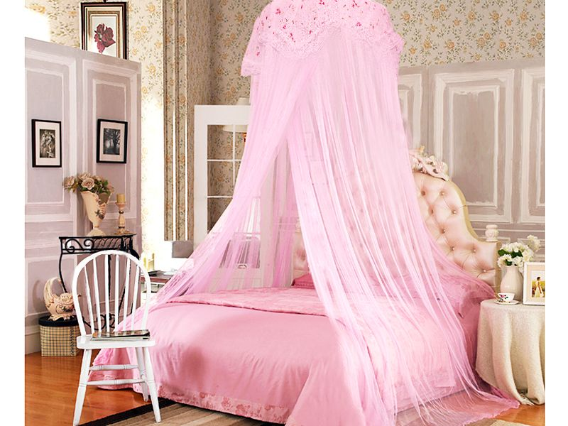 Bedroom All Pink Princess Canopy Bed Sleeping Like A