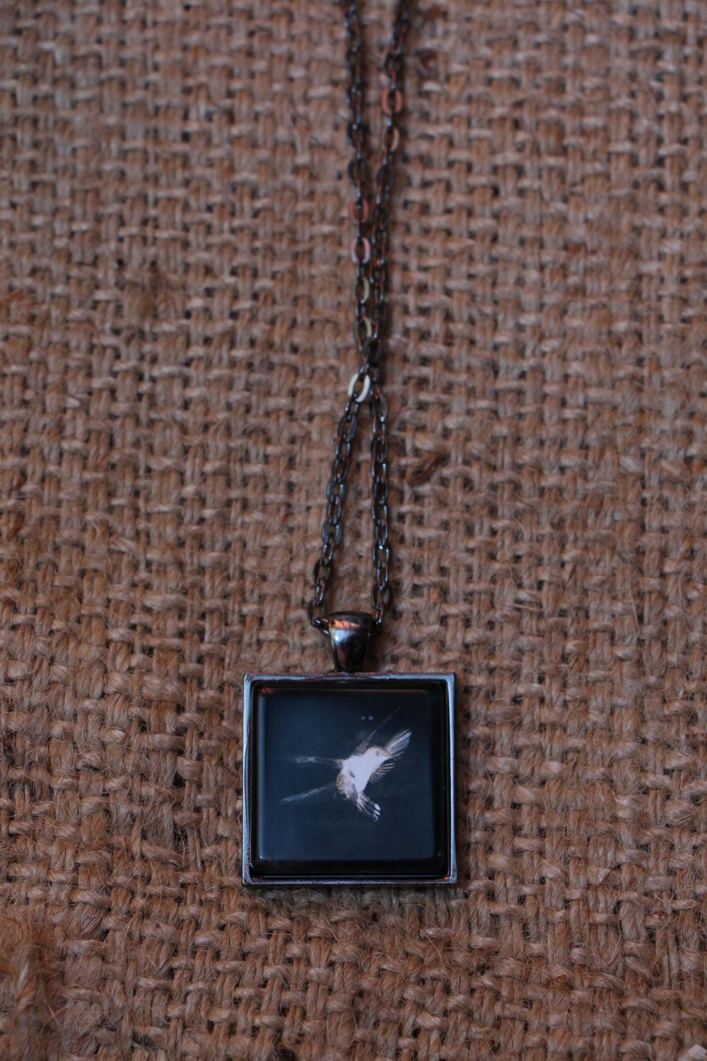Square Pendant Necklace Featuring by OffCenterPhotography on Etsy, $15.00