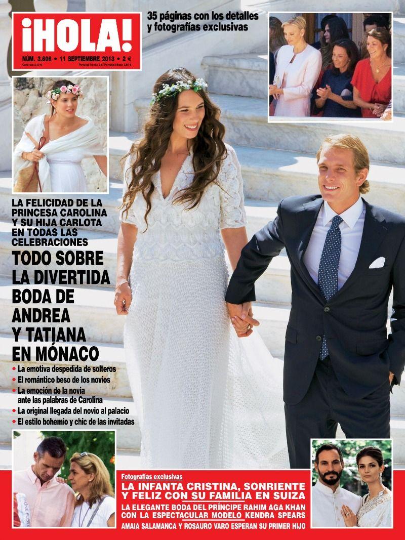 Louis Ducruet got married to Marie Chevallier Andrea