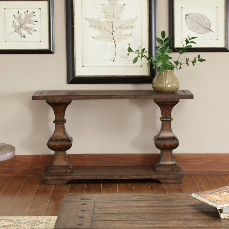 Balustrade Coffee Table Legs Canada: Have To Have It. Sedona Sofa Table
