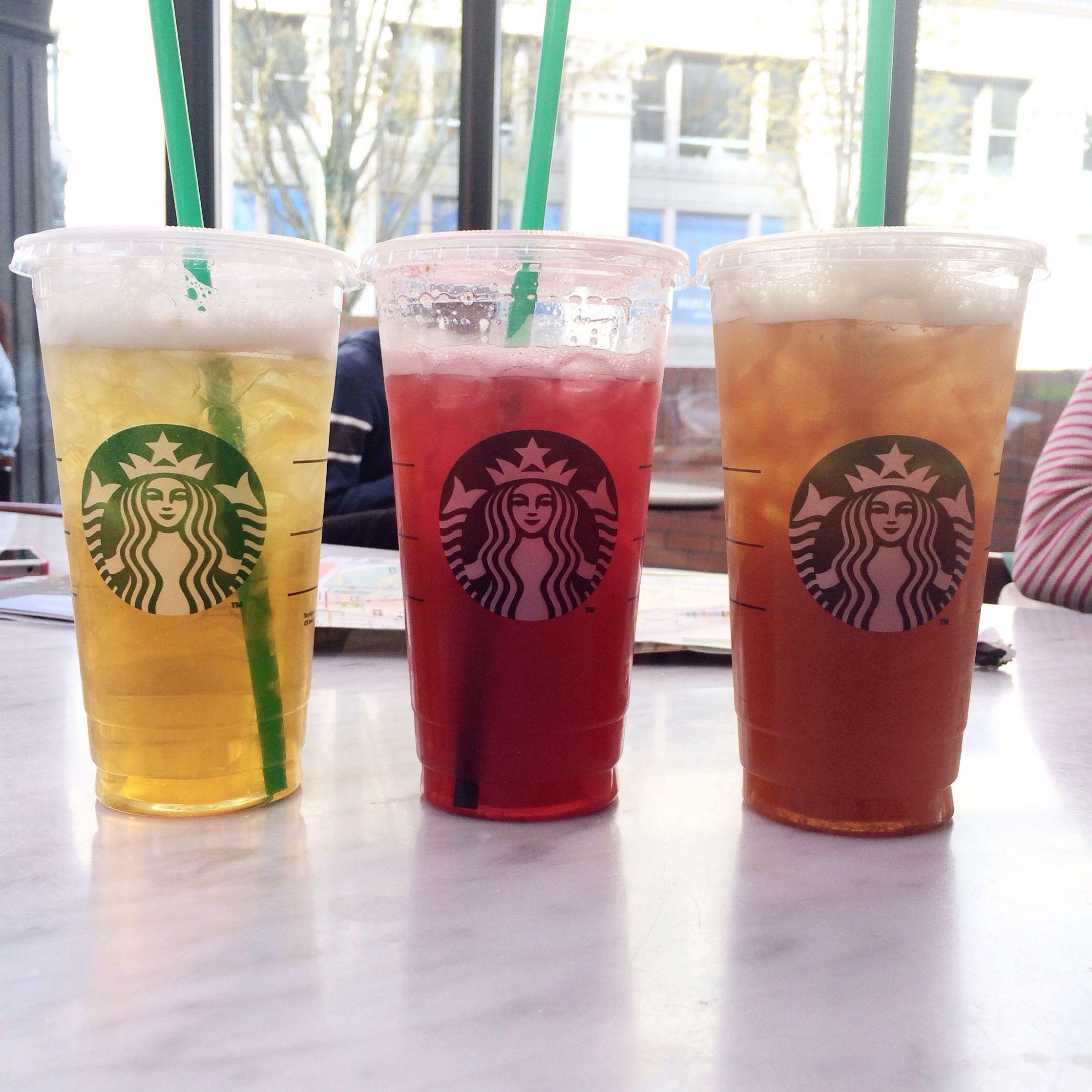 Starbucks x3 Starbucks, Pint glass, Iced coffee