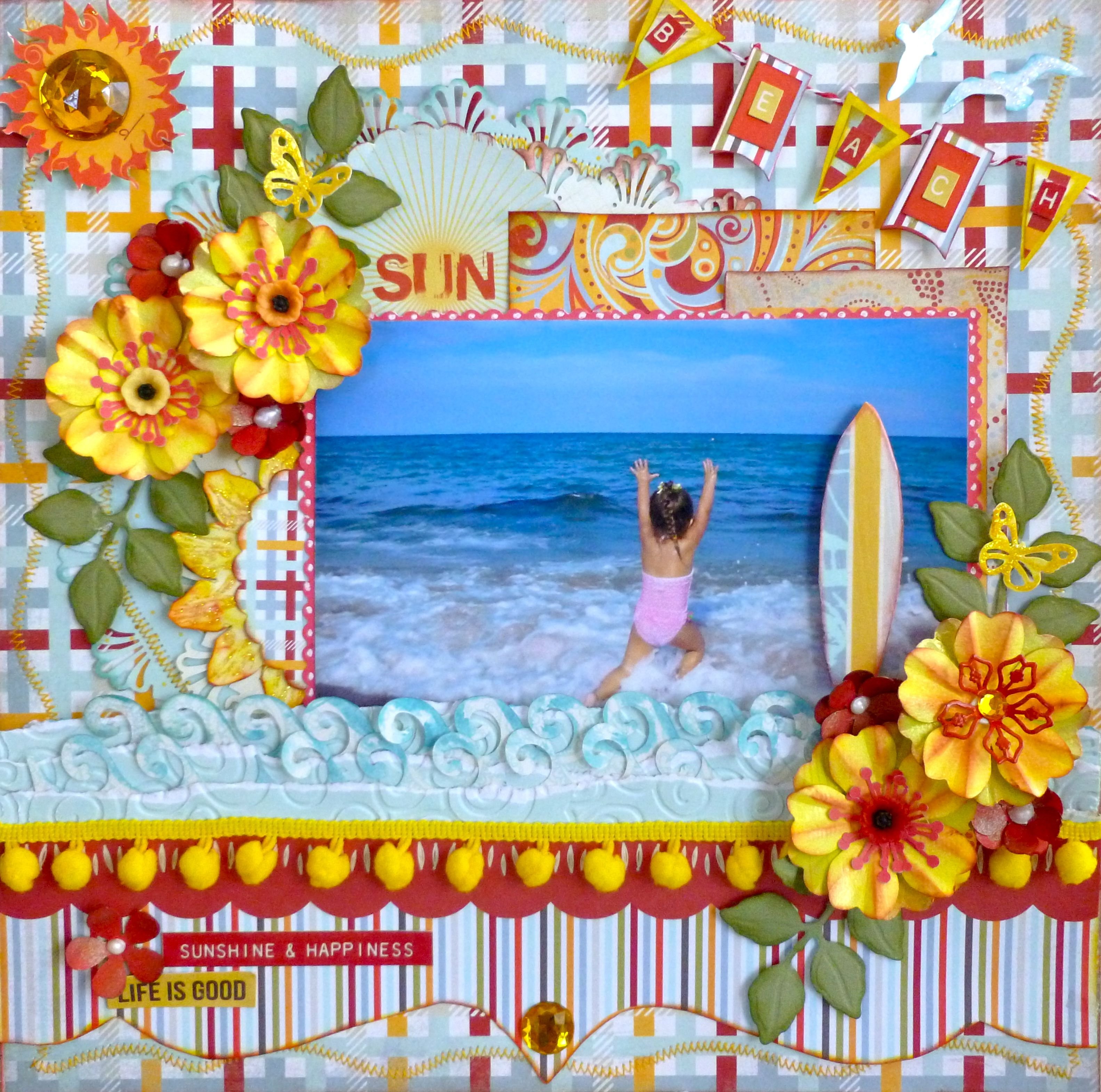 SCRAPUTANTE BEAUTIFUL AND FUN JUNE COTILLION KIT