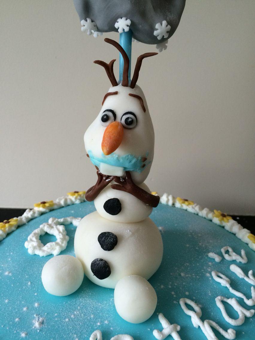 Cake ideas on pinterest pirate cakes marshmallow fondant and - Olaf Fondant