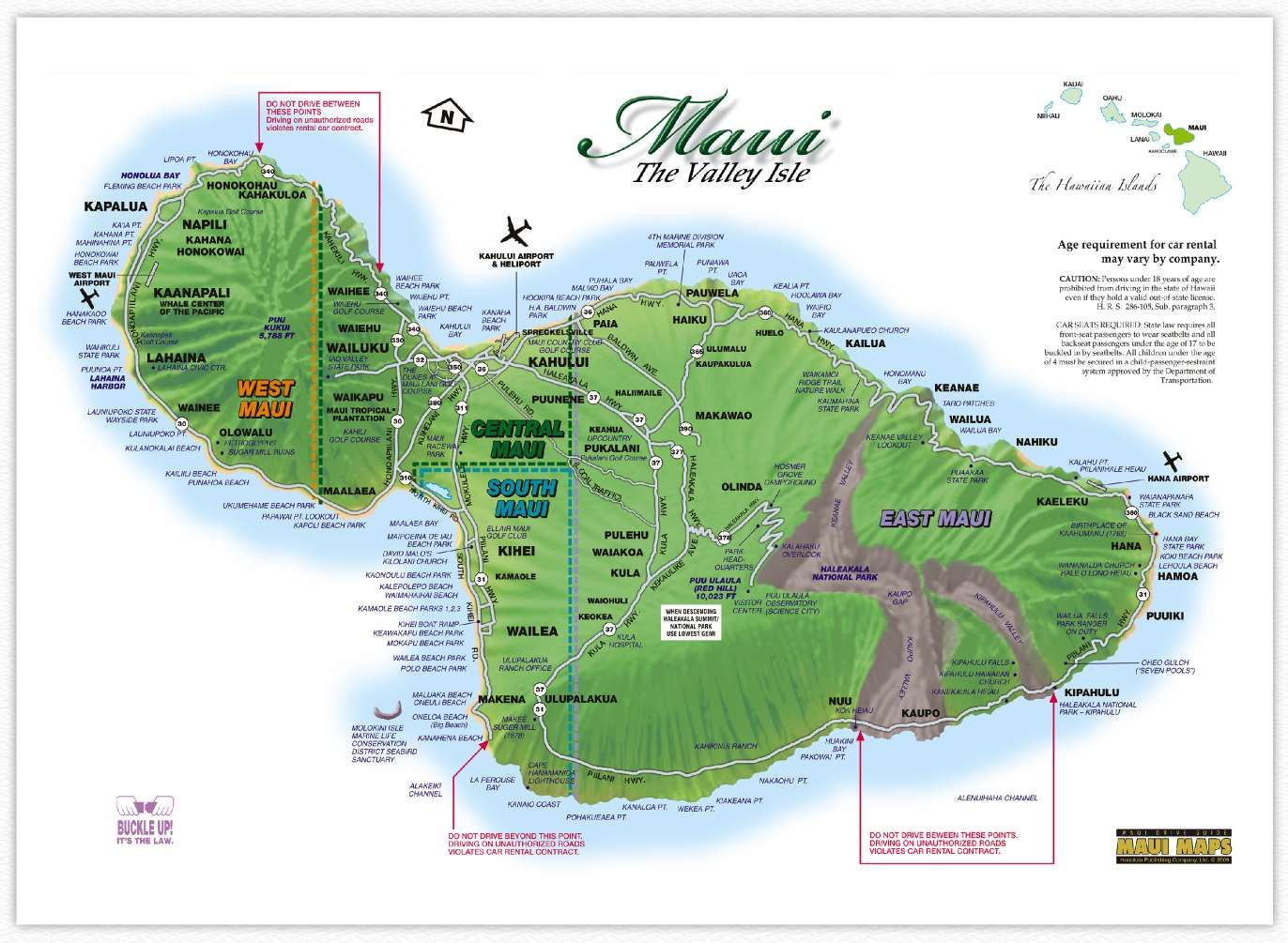 Hawaii Map Maui.30 Days To Hawaii And The Winner Is Hawaii Pinterest Maui