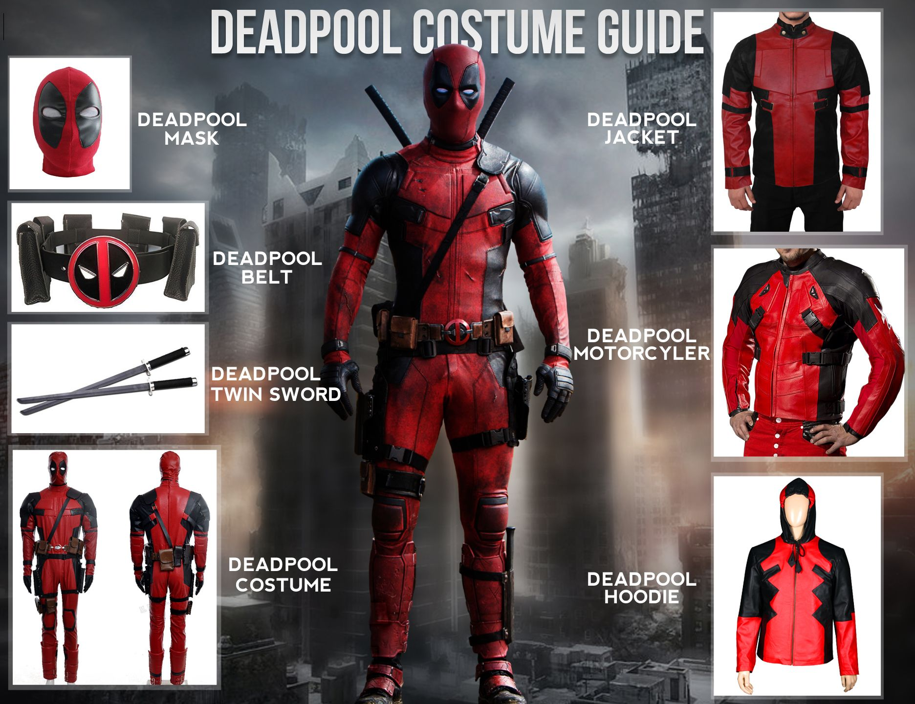 how to make a deadpool mask easy