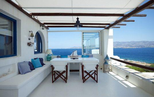Griechenland - Kykladen - Antiparos - Agios Giorgos - Villa Manto ...