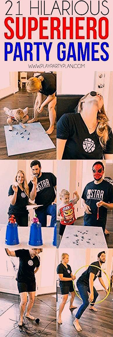 Photo of New birthday party games for adults families minute to win it 50+ ideas #PartyGa…