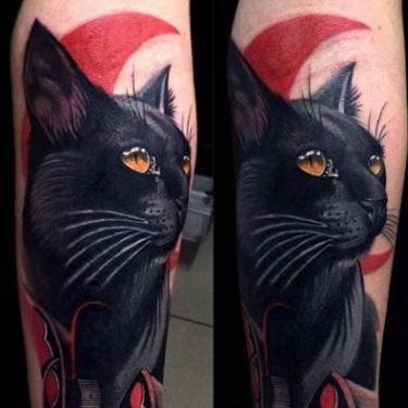 Black Cat Cover Up Tattoo Idea Black Cat Tattoos Cover Up Tattoo Cover Up Tattoos For Men