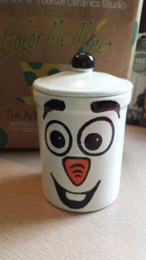 Olaf cookie jar.. too cute!