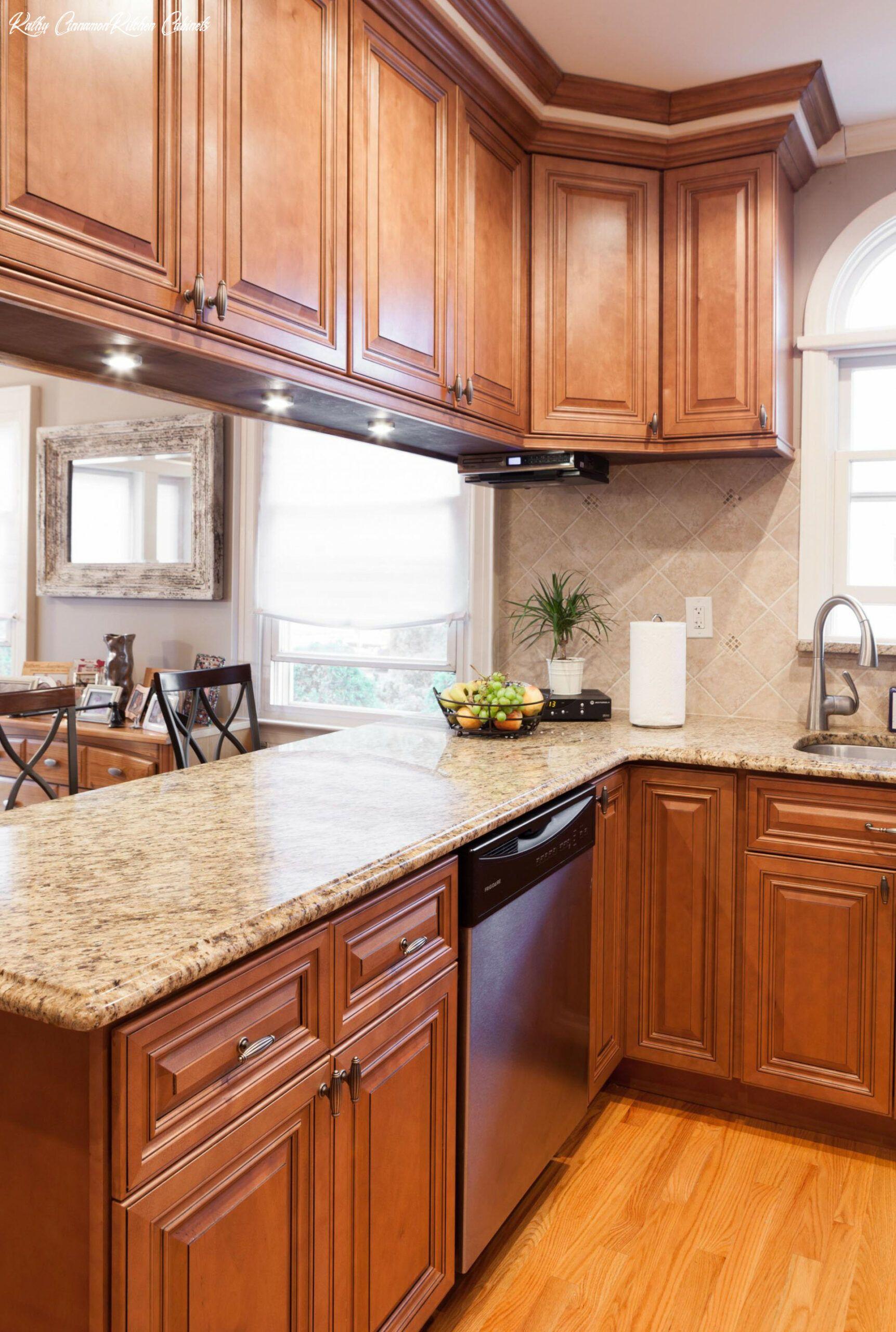 Kathy Cinnamon Kitchen Cabinets In 2020 Kitchen Cabinet Design Maple Kitchen Cabinets Granite Countertops Kitchen
