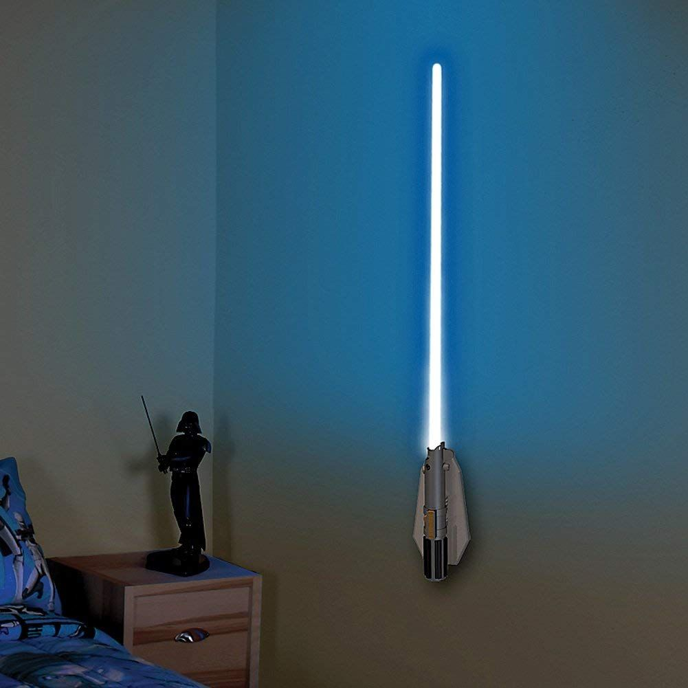 Lightsaber Room Light Star Wars Bedroom Room Lights Star Wars