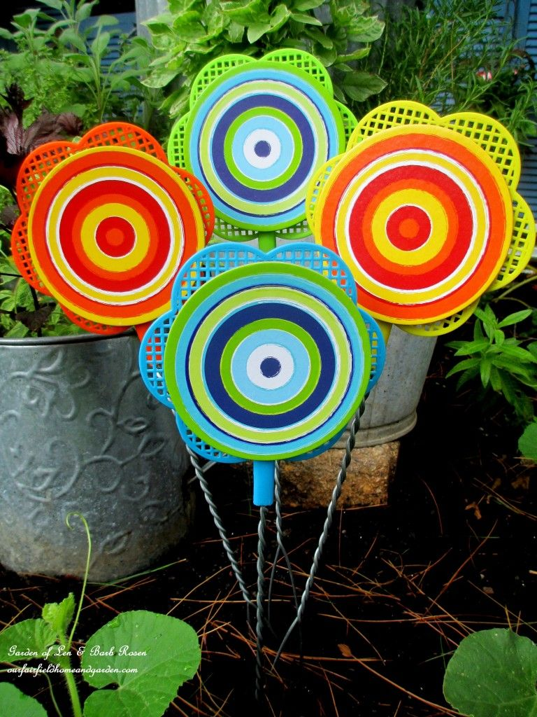 Garden Art Diy Dollar Stores Craft Ideas