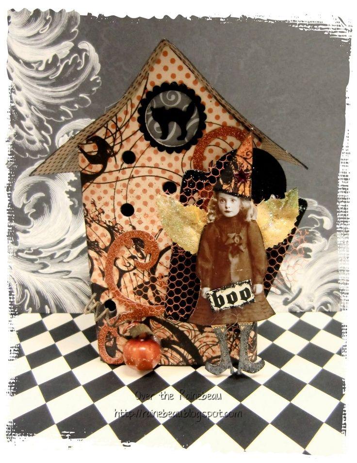 altered Matchbox | Altered matchbox - Illuminated by a tealight placed ... | Halloween F ...