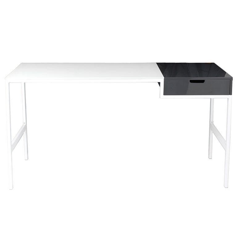 Diva Modern Desk White 58x28x30 447 00 With Images Writing
