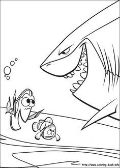 Finding Nemo coloring book page | C O L O R I N G B O O K ...