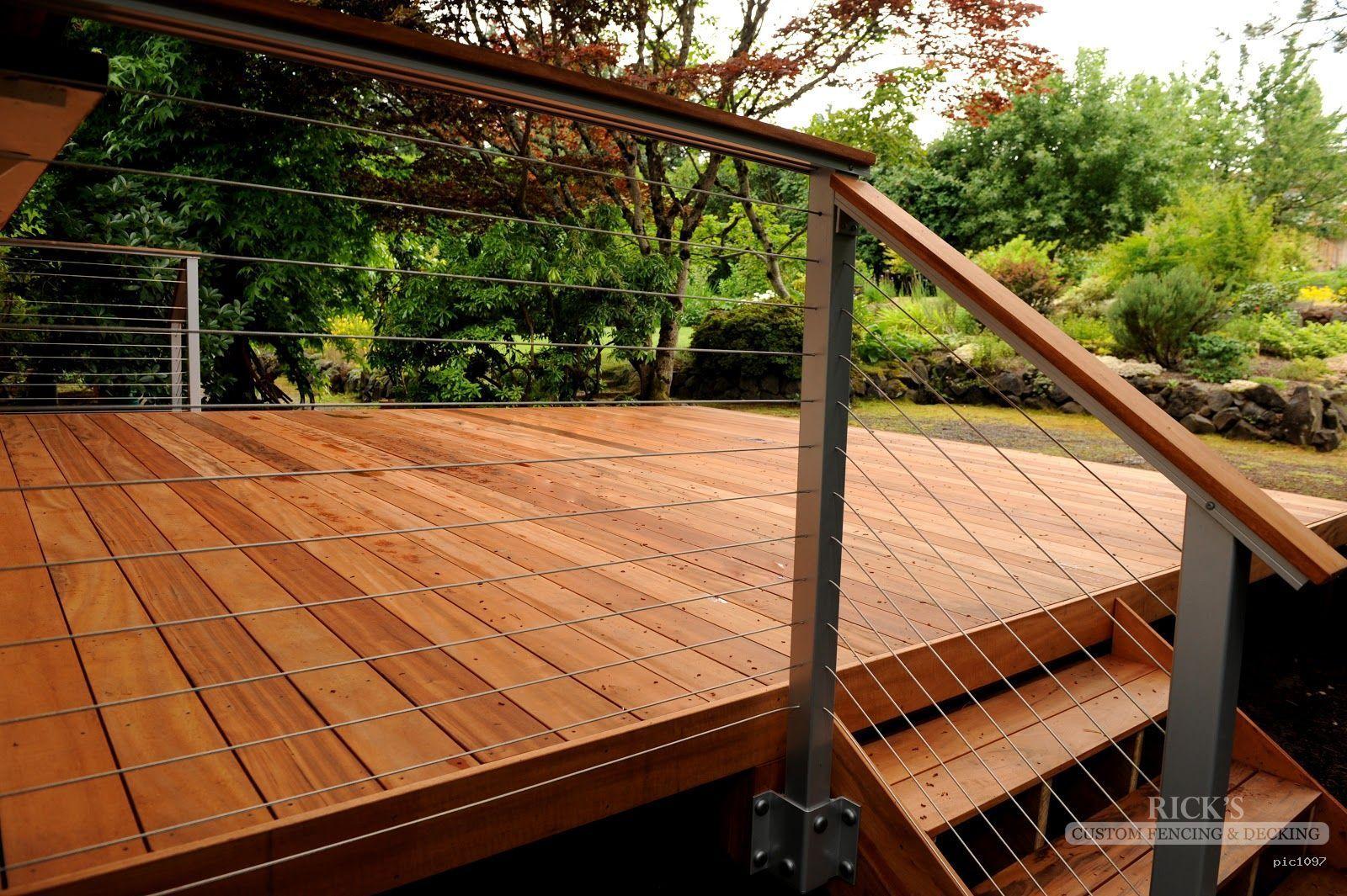 Tigerwood Decking | Rick's Custom Fencing & Decking | The ...