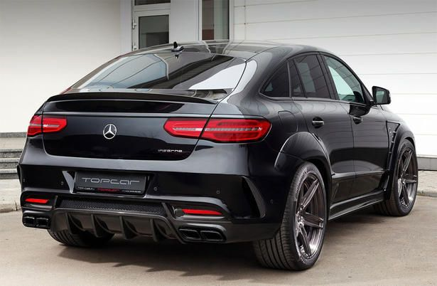 Topcar Mercedes Gle Coupe Body Kit With Images Mercedes Benz