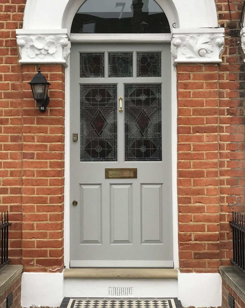 Edwardian Front Doors - London Door Company #victorianfrontdoors