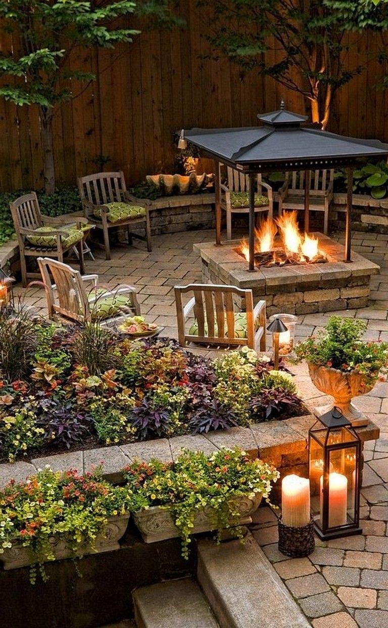 70 Lovely Small Backyard Inspirations Gardens Gardendesign Gardeningtips Backyard Backyard Seating Area Backyard Seating Backyard Landscaping Designs
