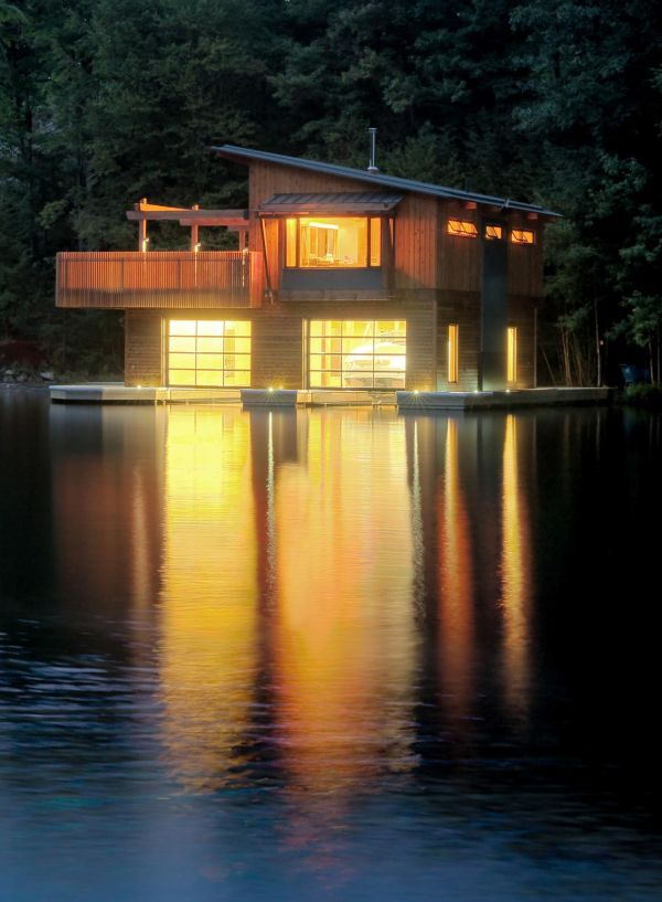 10 Amazing Floating Houses Around The Globe Schwimmende - Poolhaus Bauen