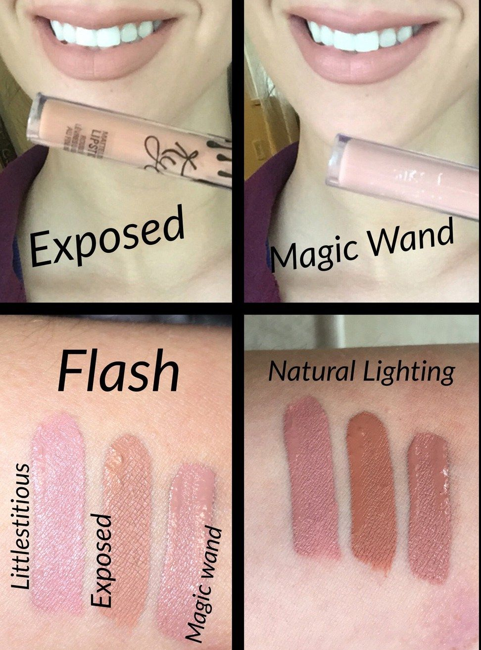 Colourpop Kylie Cosmetics: Colourpop Magic Wand And Kylie Exposed Lipstick Dupe