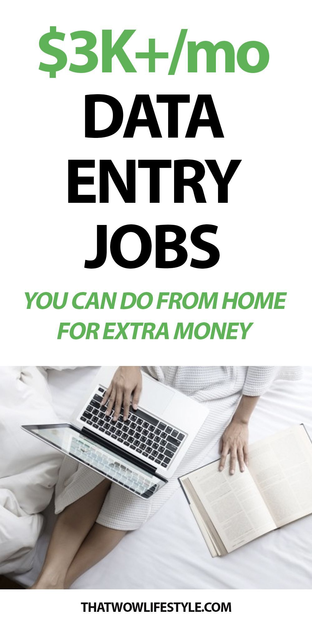 High Paying Data Entry Jobs You Can Do From Home For Extra Money