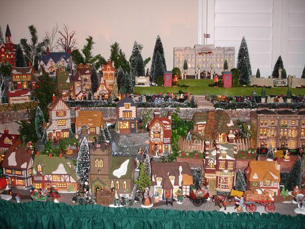 Dickens Village Display christmas Pinterest Dickens village