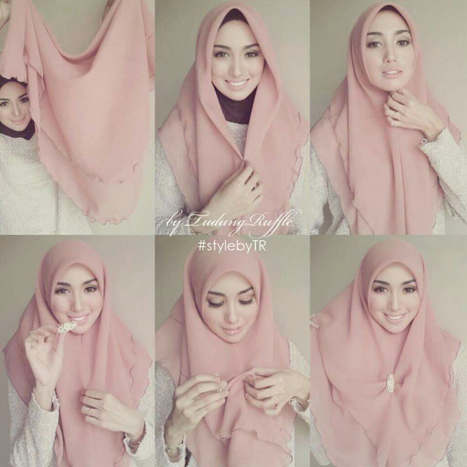 Tudung Ruffle 3 Hijab Tutorials Pinterest Ruffles And Change 3
