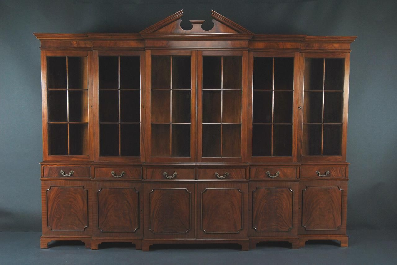 China Cabinet Large Breakfront Extra Large China Cabinet Large China Cabinet China Cabinets And Hutches Furniture