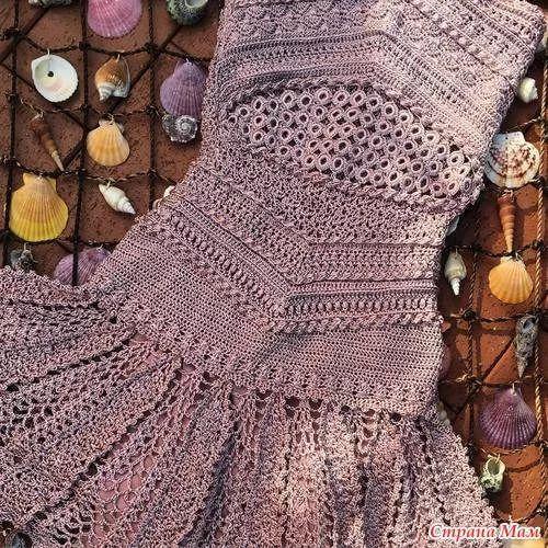 Платье квин ванессы монторо схема
