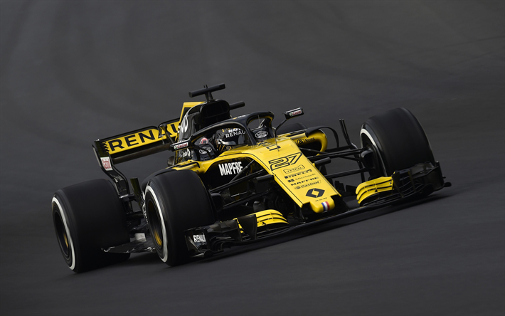 download wallpapers nico hulkenberg 4k renault rs 18 raceway formula one 2018 cars f1. Black Bedroom Furniture Sets. Home Design Ideas