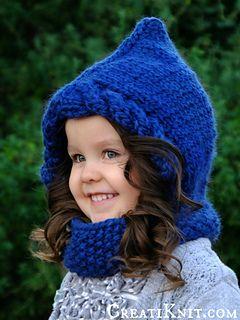 Love this sweet little hood!