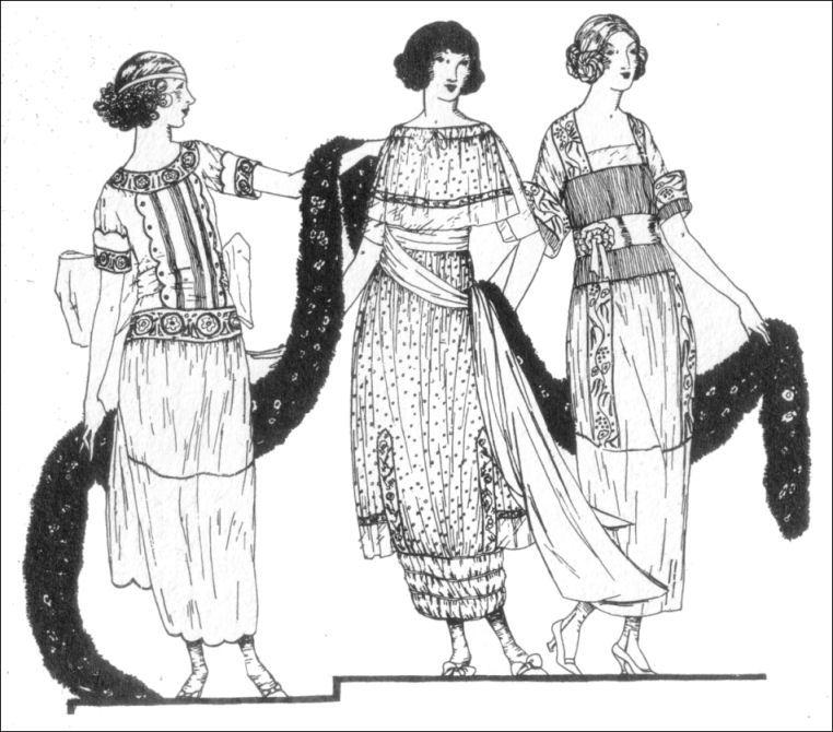 Women And Fashions Of The Early 20th Century World War I Era Clothing Of 1914 1920 Fashion Illustration Vintage 1910s Fashion Western Fashion