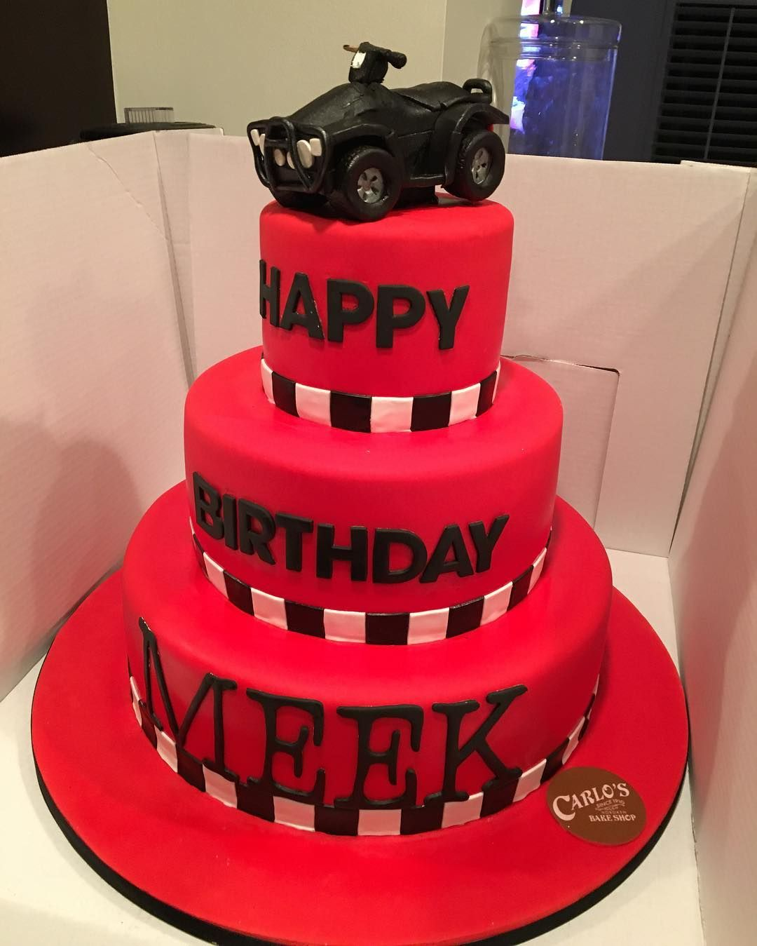 This Was His Other Cake I Asked For A 4 Wheeler Made Out