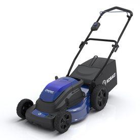 Kobalt 40 Volt 19 In Cordless Electric Push Lawn Mower Push Lawn Mower Lawn Mower Outdoor Power Equipment