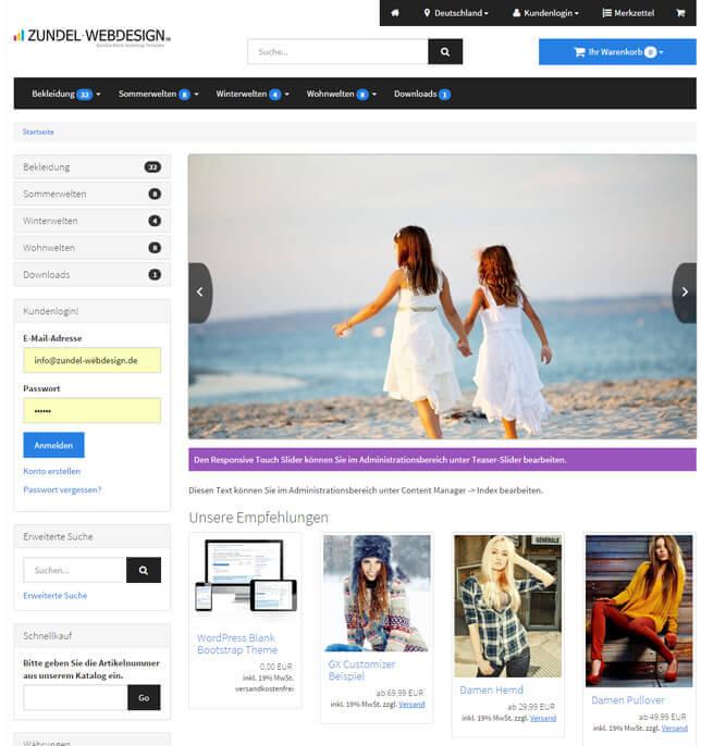 18 best Gambio Responsive Shop Templates images on Pinterest | Role ...