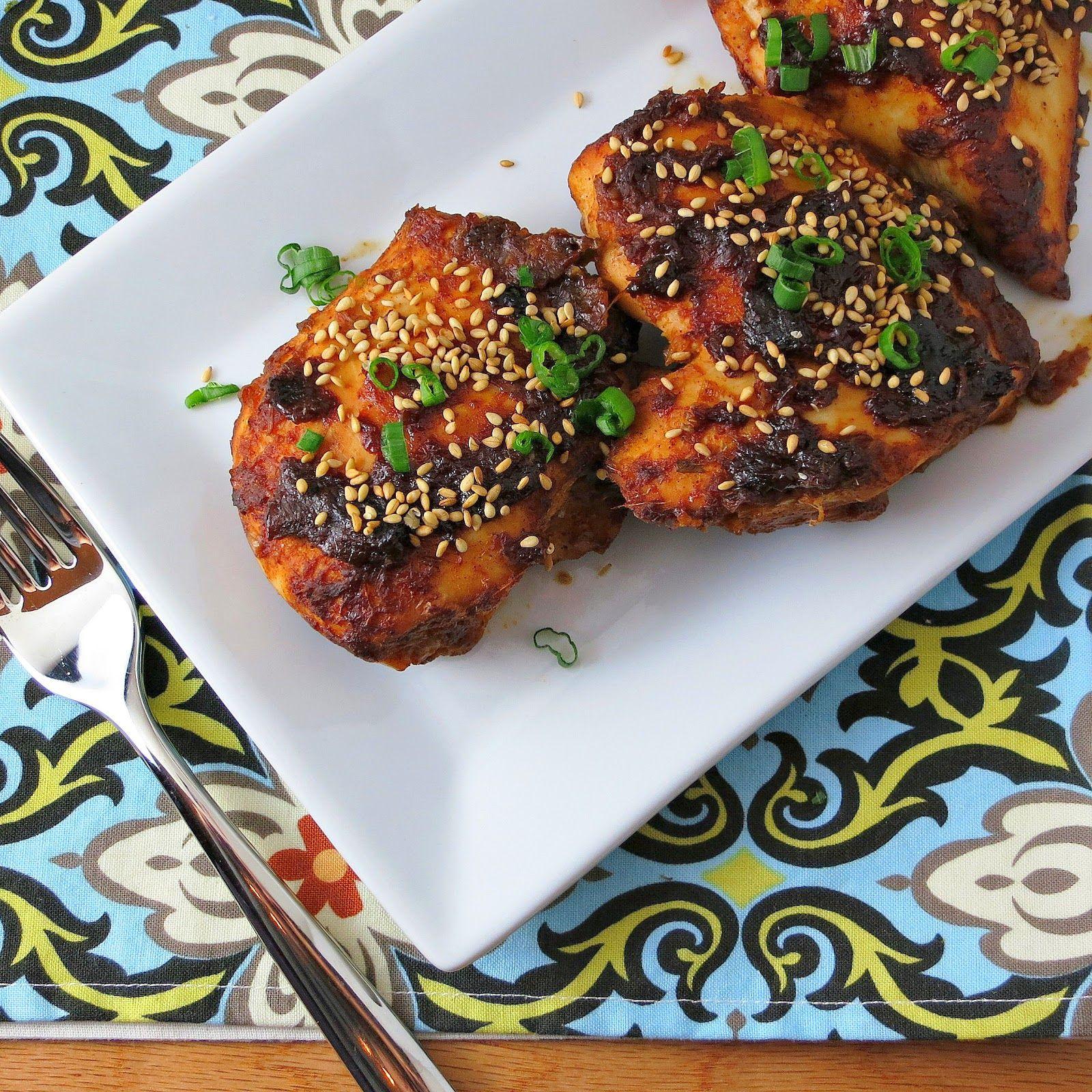 Oven Baked Sriracha Chicken Recipe With Garlic, Ginger & Hoisin
