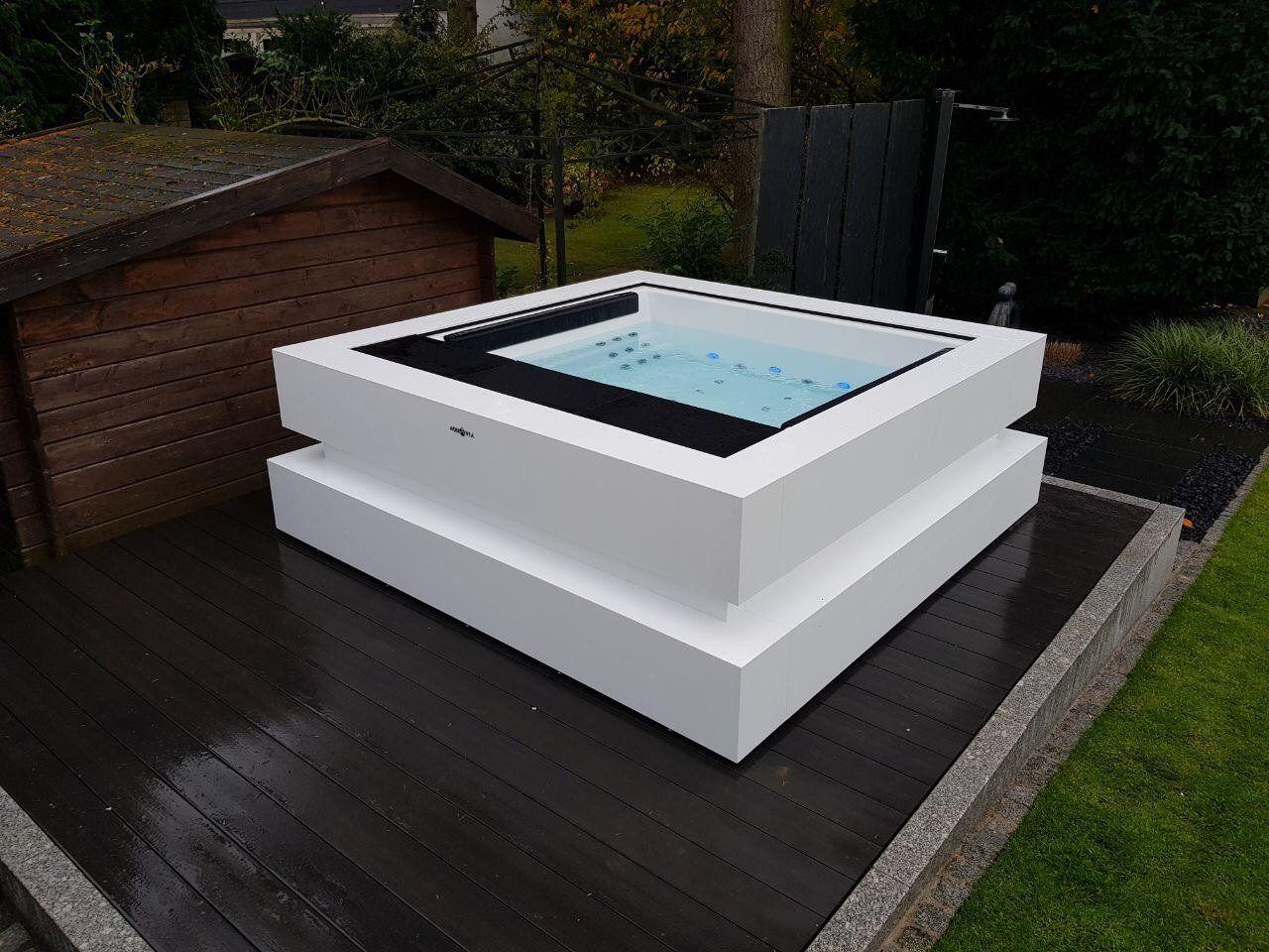 Aquavia Spa Cube Deine Wellnesswelt Whirlpool Garten Aussenwhirlpool Whirlpool
