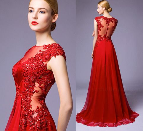 Brief Instruction Customize Yes Fully Lined Built In Bra Boning This Long Red Prom Dress Is From AOLANES 2016 New Collection